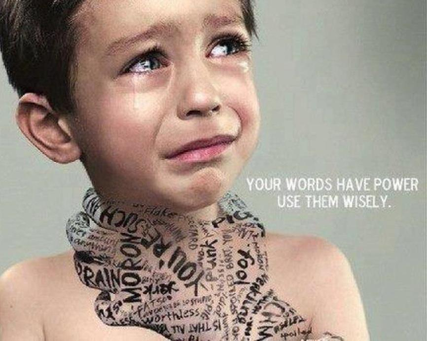 Your words have power, choose them wisely